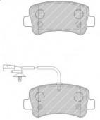 Ferodo FVR4348 Тормозные колодки, к-т дисковые