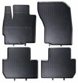 Geyer Hosaja Коврики в салон для Mitsubishi Outlander III '12- / Peugeot 4007 '07-12, резиновые черные