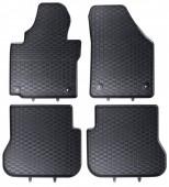 Geyer Hosaja Коврики в салон для VW Caddy III '04-, резиновые черные