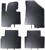 Geyer Hosaja Коврики в салон для Hyundai IX35 '09- / Kia Sportage '10-, резиновые черные