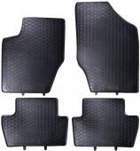 Geyer Hosaja Коврики в салон для Citroen C4 I '01–10, резиновые черные