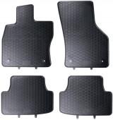 Geyer Hosaja Коврики в салон для Audi A3 '12- / Octavia III '13- / Passat B8 '14- / Superb III '15-, резиновые черные