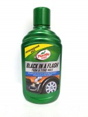Turtle Wax Black in a Flash Полироль для внутреннего и внешнего пластика