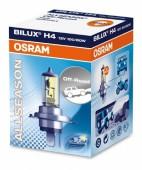 Osram  Allseasons 62203 H4 12V 100/80W Автолампа галогенная, 1шт