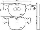 BREMBO P 06 021 Тормозные колодоки, к-т дисковые