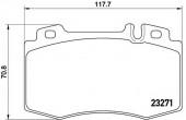 Brembo P 50 041 Тормозные колодоки, к-т дисковые