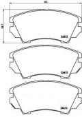 BREMBO P 59 055 Тормозные колодоки, к-т дисковые