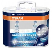 Osram  Night breaker plus 64150 H1 12V 55W ��������� ����������, 1��