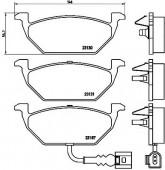 BREMBO P 85 072 Тормозные колодоки, к-т дисковые