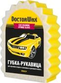 Doctor Wax Губка рукавица с сеткой для мойки и удаления сложных загрязнений (DW8639)