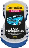 Doctor Wax Губка автомобильная для мытья и удаления сложных загрязнений