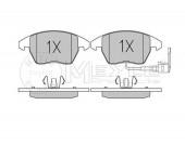 MEYLE 025 235 8720/W Тормозные колодки, к-т дисковые