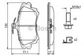 Bosch 0 986 424 541 Тормозные колодки, к-т дисковые