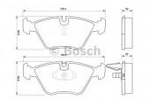 Bosch 0 986 424 767 Тормозные колодки, к-т дисковые