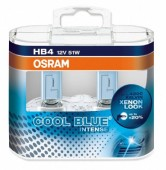 Osram Cool Blue Intense 9006 12V 51W ��������� ����������, 2��