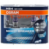 Osram Night breaker plus 9006 HB4 12V 51W ��������� ����������, 2��