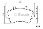 Bosch 0 986 494 031 Тормозные колодки, к-т дисковые