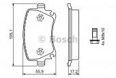 Bosch 0 986 494 062 Тормозные колодки, к-т дисковые