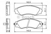 Bosch 0 986 494 173 Тормозные колодки, к-т дисковые