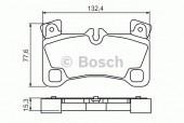 Bosch 0 986 494 205 Тормозные колодки, к-т дисковые