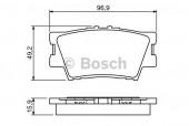 Bosch 0 986 494 346 Тормозные колодки, к-т дисковые