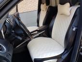 Аvторитет Premium Накидки на передние и задние сиденья, бежевые