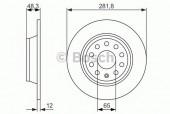 Bosch 0 986 479 247 Тормозной диск, 1шт