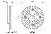 Bosch 0 986 479 932 Тормозной диск, 1шт