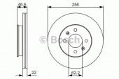 Bosch 0 986 479 R77 Тормозной диск, 1шт