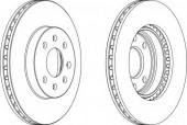 Ferodo DDF1097 Тормозной диск, 1шт
