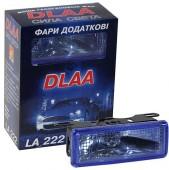 DLAA 222 BL Дополнительные фары противотуманные, 2шт