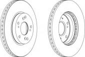 Ferodo DDF1557 Тормозной диск, 1шт