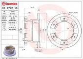 Brembo 08.7772.10 Тормозной диск, 1шт