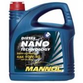 Mannol NANO DIESEL TECHNOLOGY 10W-40 Полусинтетическое  моторное масло