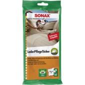 Sonax Влажные салфетки для кожи