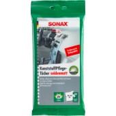 Sonax Влажные салфетки для пластика, матовые