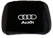 Autoprotect Чехлы на подголовники Audi, черные