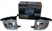 DLAA CV-167 Противотуманные модельные фары Chevrolet /Lacetti/Optra 2006, 2шт