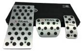 J-tec Накладки на педали NISSAN X-Trail T32, АКПП