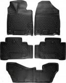 Novline Коврики в салон для Acura MDX '14-, полиуретан черные