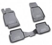 Novline Коврики в салон для Audi A6 '05-10, полиуретан черные
