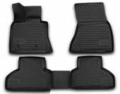 Novline Коврики в салон для BMW X5 '13-, полиуретан черные
