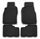 Novline Коврики в салон для Nissan Patrol '04-09, полиуретан черные