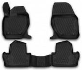 Novline Коврики в салон для Volvo S60 '13-, полиуретан черные