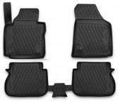Novline Коврики в салон для Volkswagen Caddy '16-, полиуретан черные