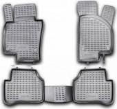 Novline Коврики в салон для Volkswagen Passat B7 '10-14, полиуретан черные