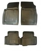 Novline Коврики в салон для Chevrolet Cruze '09-, полиуретан черные