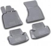 Novline Коврики в салон для Audi Q5 '08-17, полиуретан черные