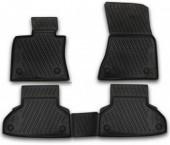 Novline Коврики в салон для BMW X6 F16 '15-, полиуретан черные