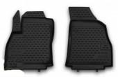 Novline Коврики в салон передние для Fiat Fiorino Qubo '08-, полиуретан черные